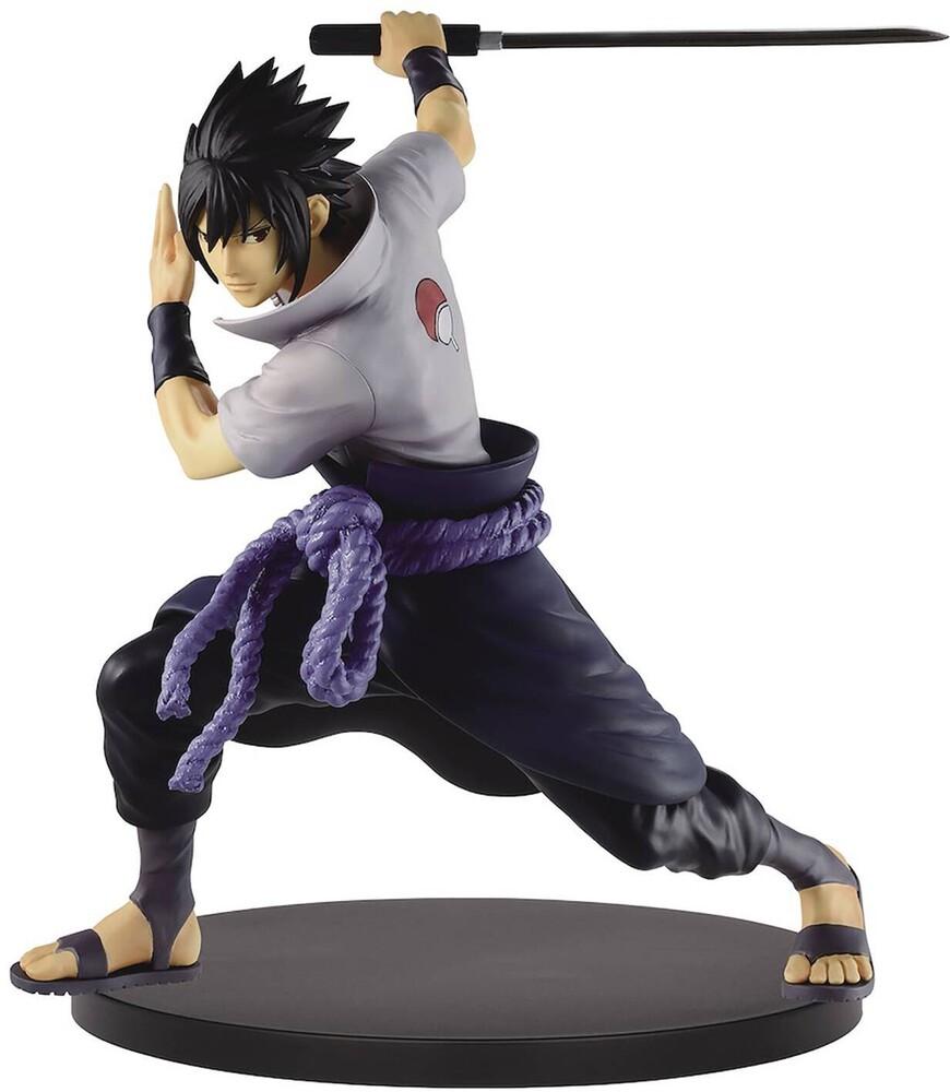 Banpresto - BanPresto - Naruto Shippuden Vibration Stars Uchida Sasuke II Figure