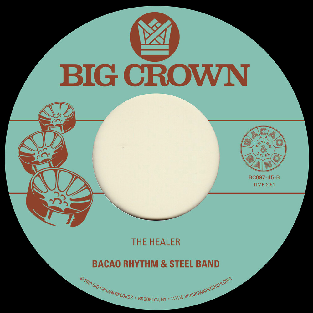 Bacao Rhythm & Steel Band - My Jamaican Dub B/ w The Healer [Limited Edition Vinyl Single]