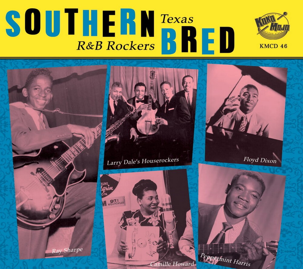 Southern Bred Texas R&B Rockers Vol8 / Various - Southern Bred Texas R&B Rockers Vol.8 / Various