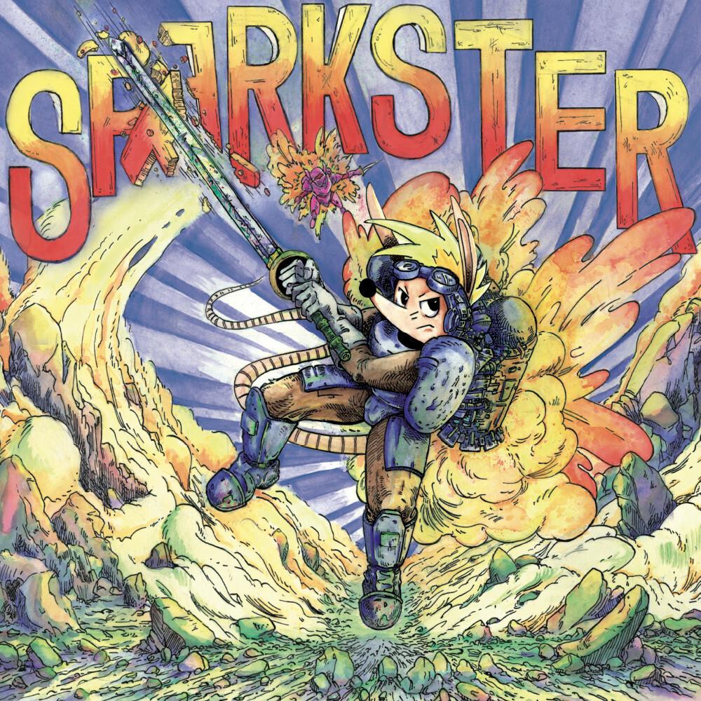 Konami Kukeiha Club Cvnl - Sparkster (Clear Wax) [Clear Vinyl]