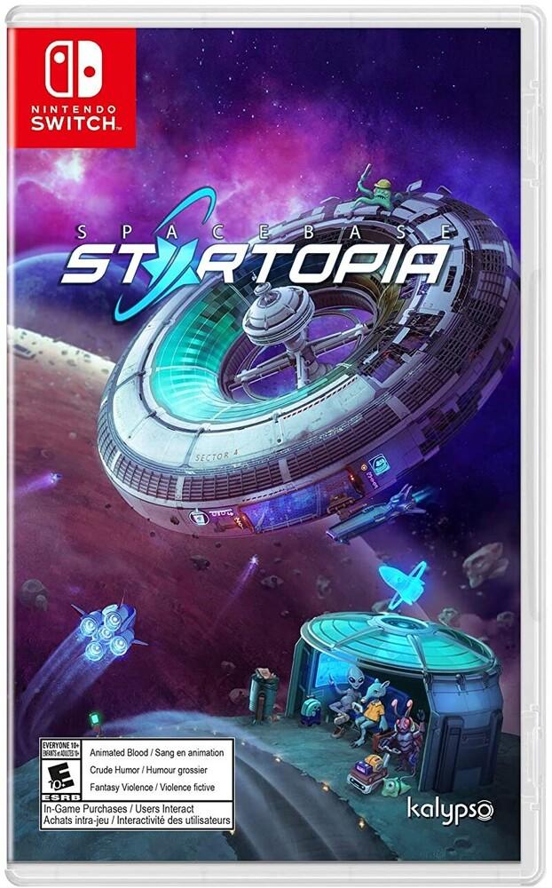 - Spacebase Startopia for Nintendo Switch