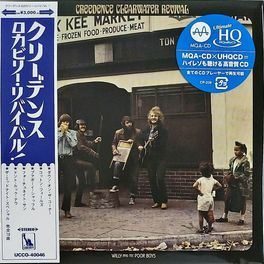 Ccr Creedence Clearwater Revival - Willy & The Poor Boys (Jmlp) [Limited Edition] (Hqcd) (Jpn)