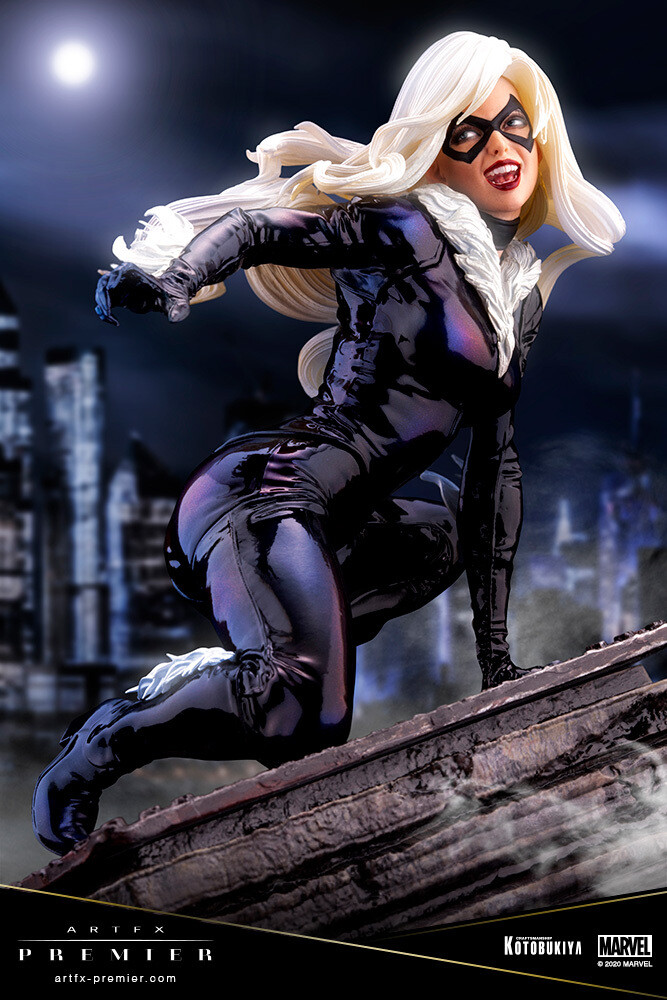 Marvel Universe - Black Cat Artfx Premier - Kotobukiya - Marvel Universe - Black Cat ARTFX Premier