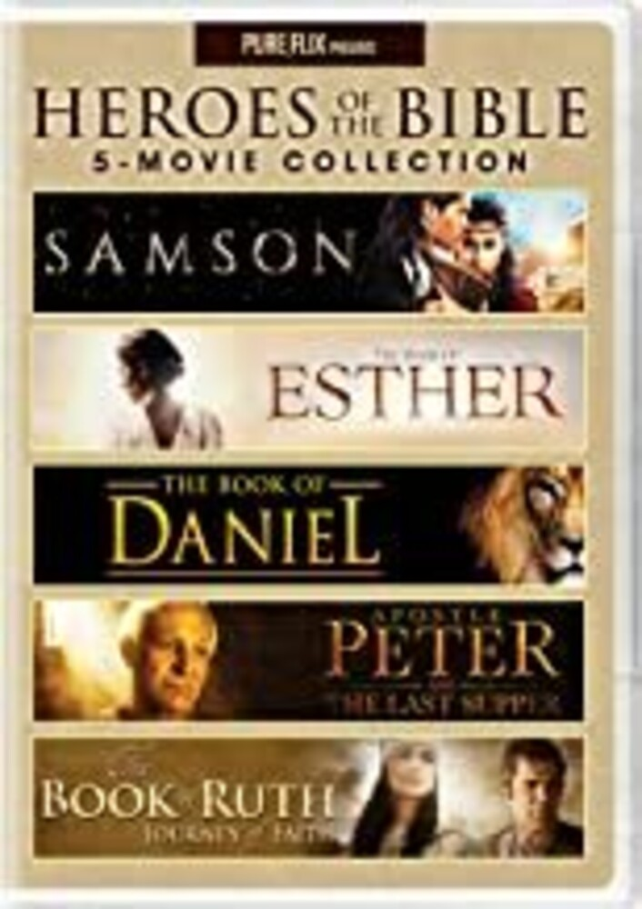 Heroes of the Bible 5-Movie Collection - Heroes Of The Bible 5-Movie Collection (3pc)
