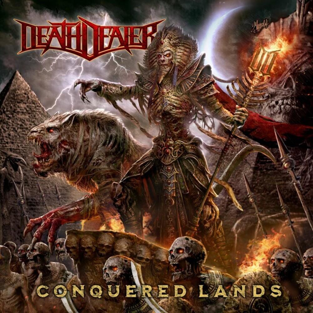 Death Dealer - Conquered Lands (Black/White Splatter Vinyl) (Blk)