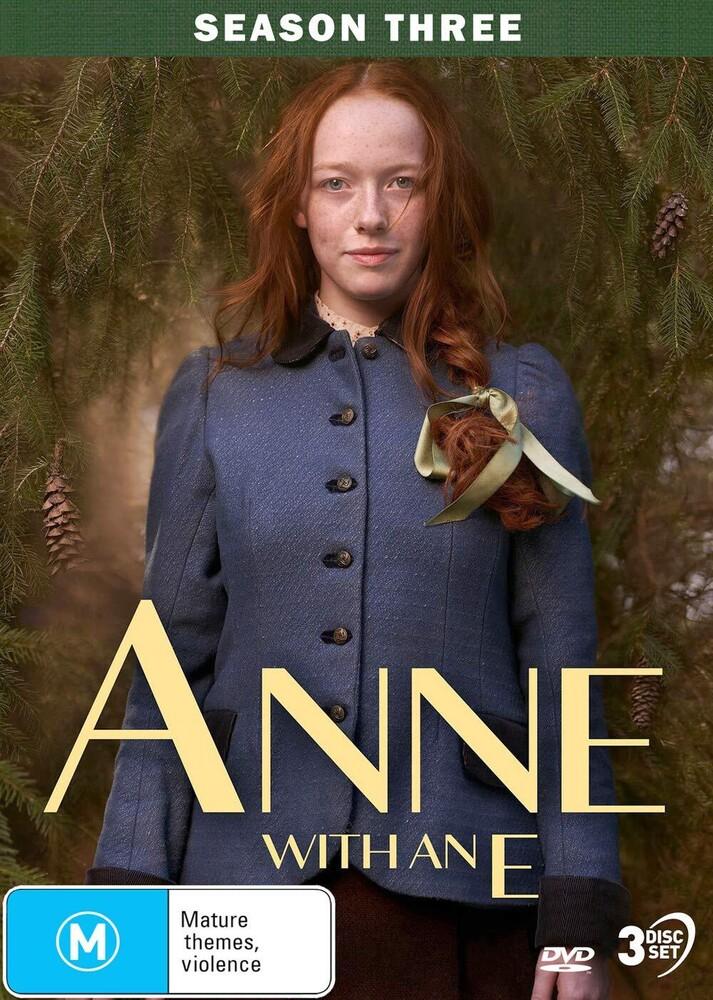 - Anne With An E: Season 3 (3pc) / (Aus Ntr0)