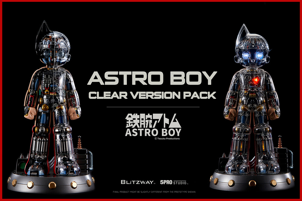 Blitzway - Blitzway - Astro Boy Clear Version Pack, Blitzway Superb Anime Statue(Non Scale)