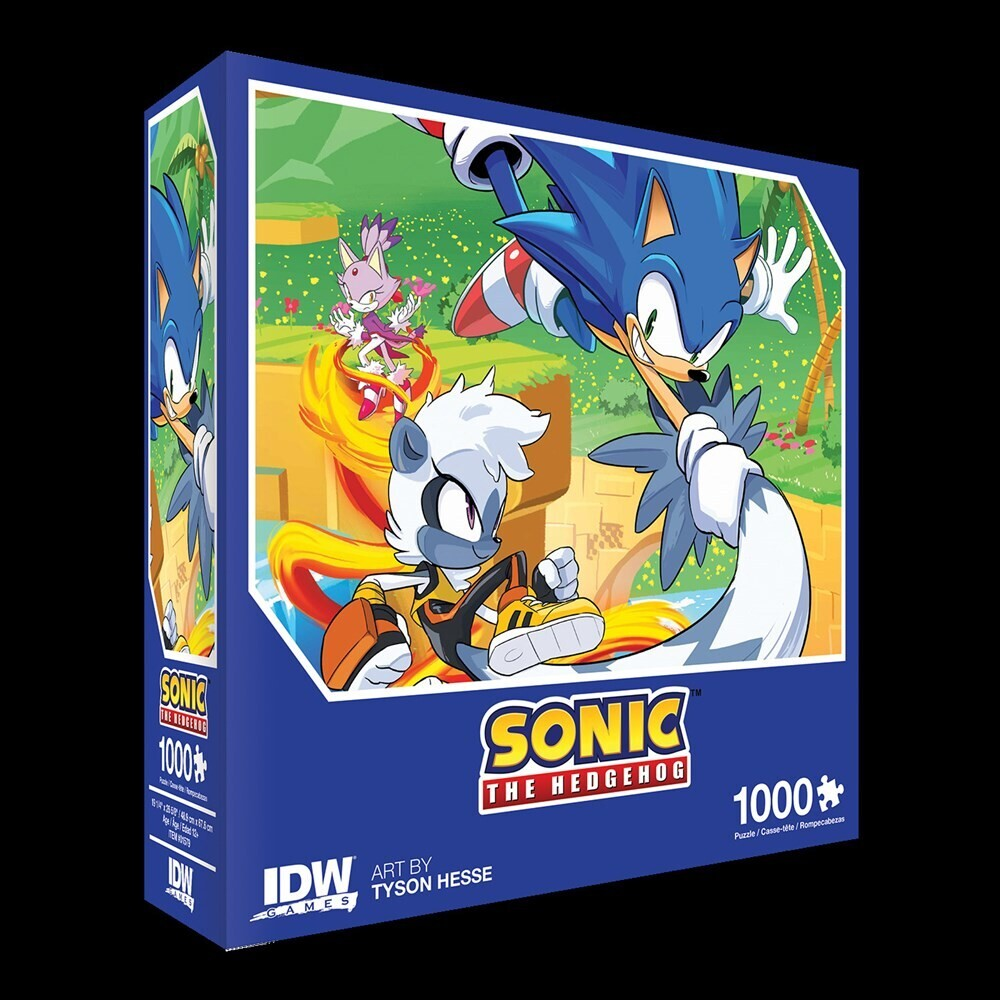 - Sonic The Hedgehog: Too Slow! Premium Puzzle (1000-pc)