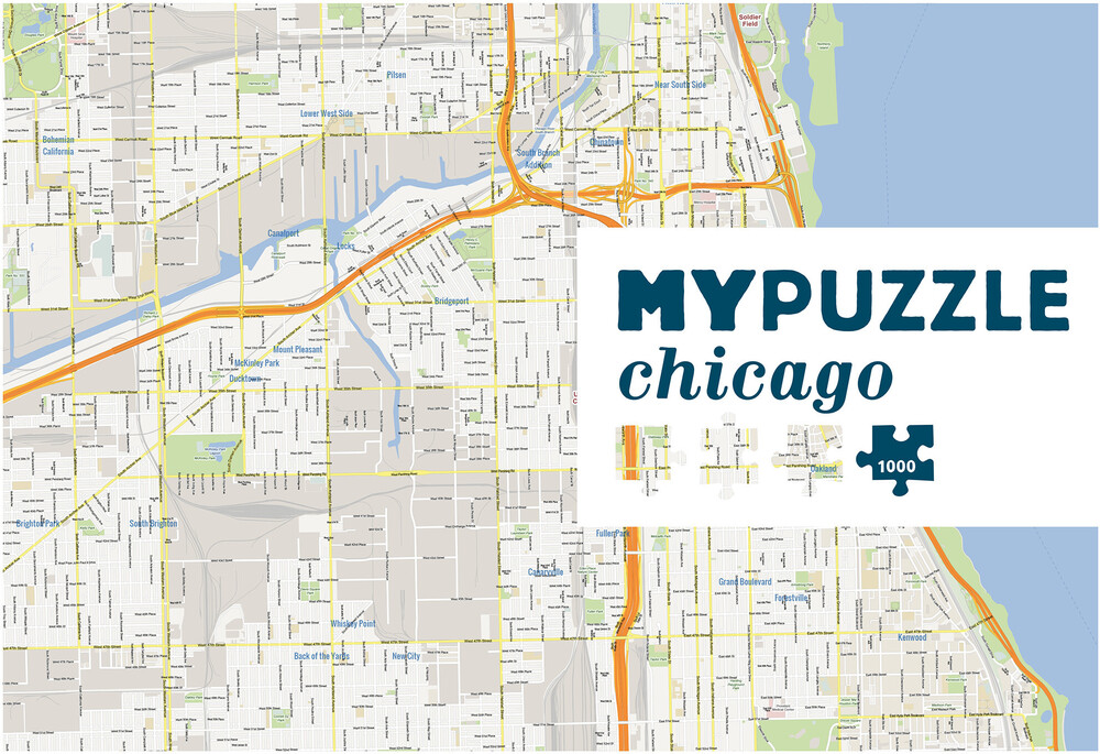 Mypuzzle Chicago 1000 PC Jigsaw Puzzle - MYPUZZLE Chicago 1000 Pc Jigsaw Puzzle