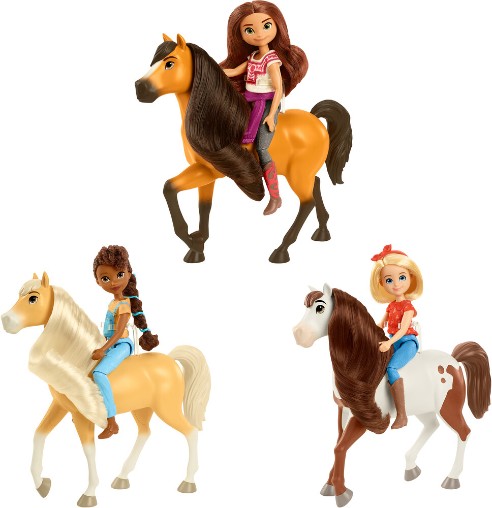 Spirit - Mattel - Spirit Doll & Horse Assortment