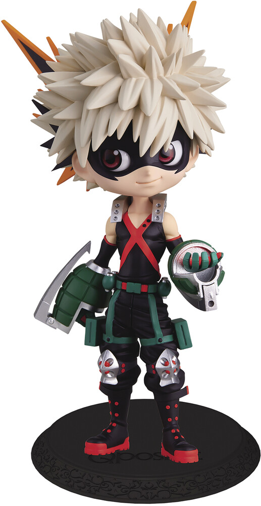 - BanPresto - My Hero Academia Katsuki Bakugo Q posket Figure Version 2