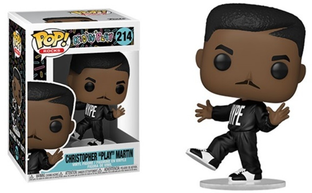 - FUNKO POP! ROCKS: Kid 'N Play- Play