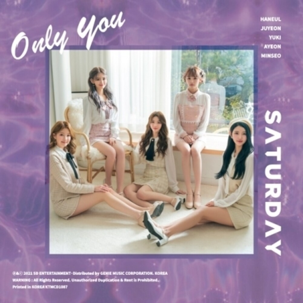 Saturday - Only You (Stic) [With Booklet] (Phot) (Asia)