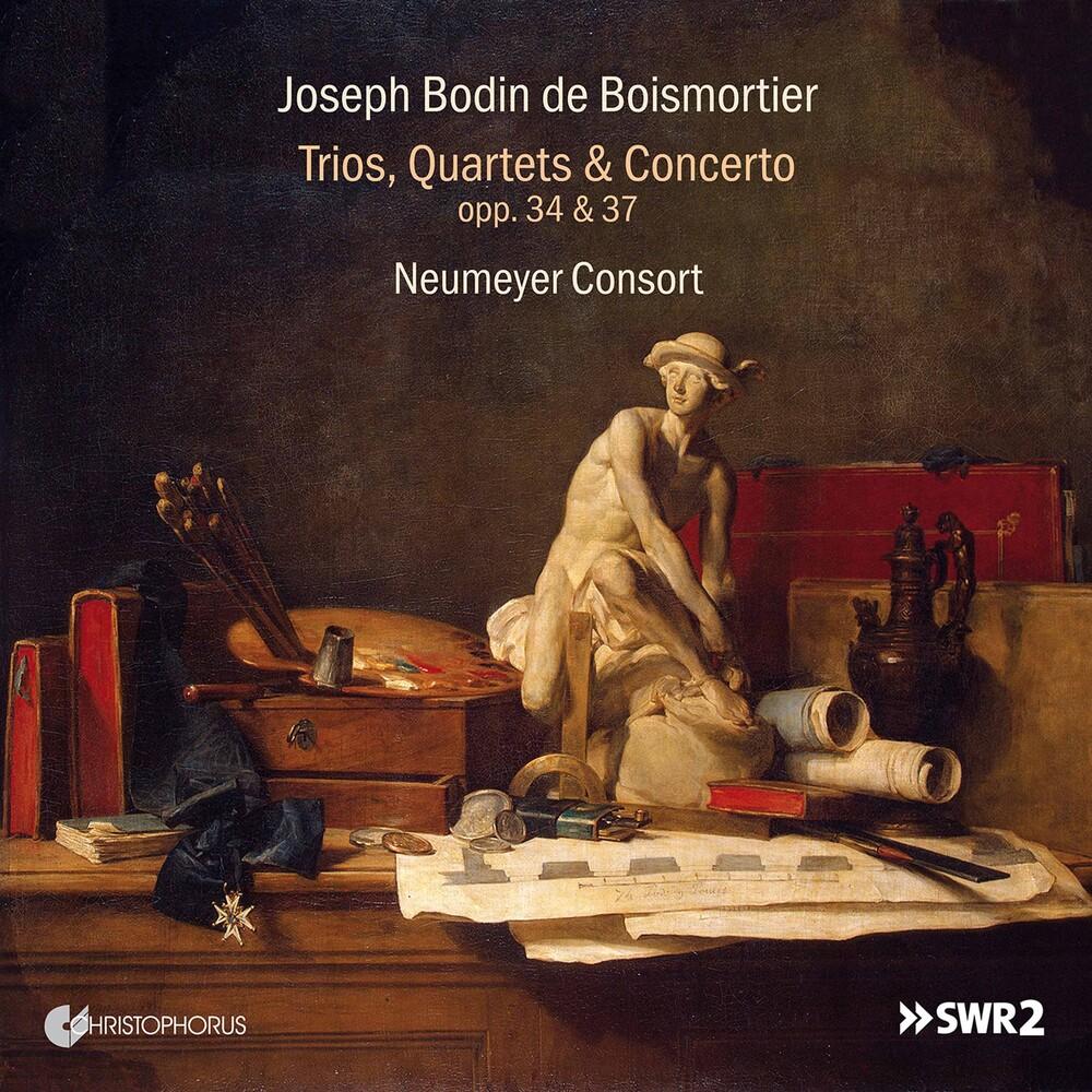 Boismortier / Neumeyer Consort - Trios Quartets & Concerto