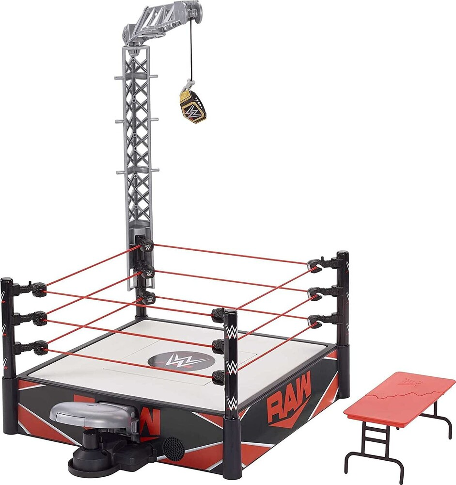 WWE - Mattel Collectible - WWE 3-Count Kickout Ring