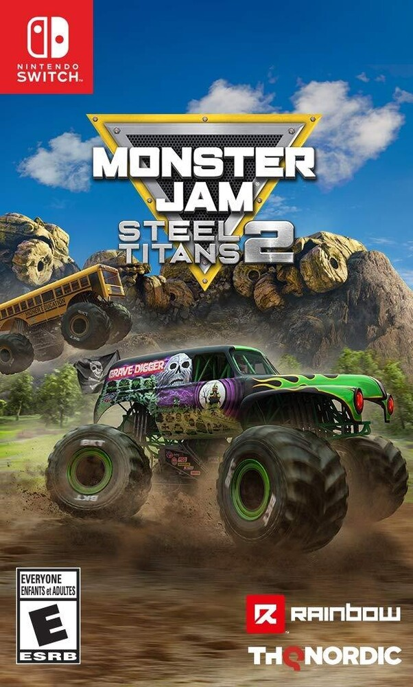 - Monster Jam Steel Titans 2 for Nintendo Switch