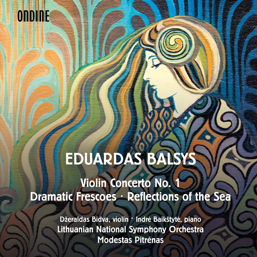 Balsys / Bidva / Pitrenas - Violin Concerto 1