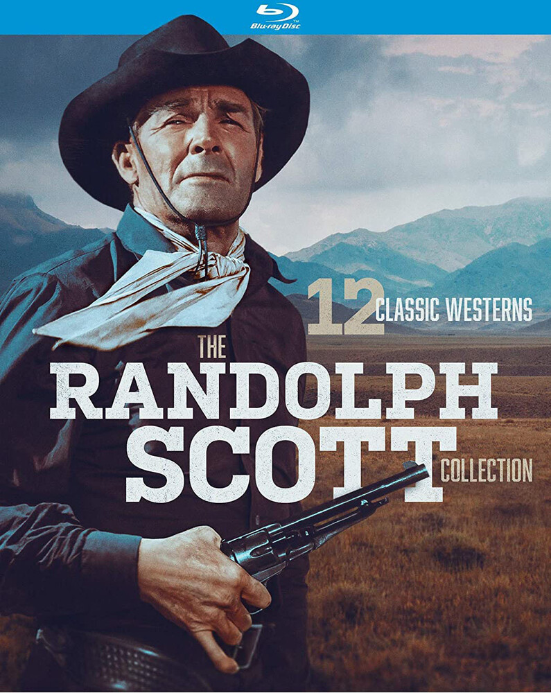 - Randolph Scott Western Collection - 12 Classic Bd