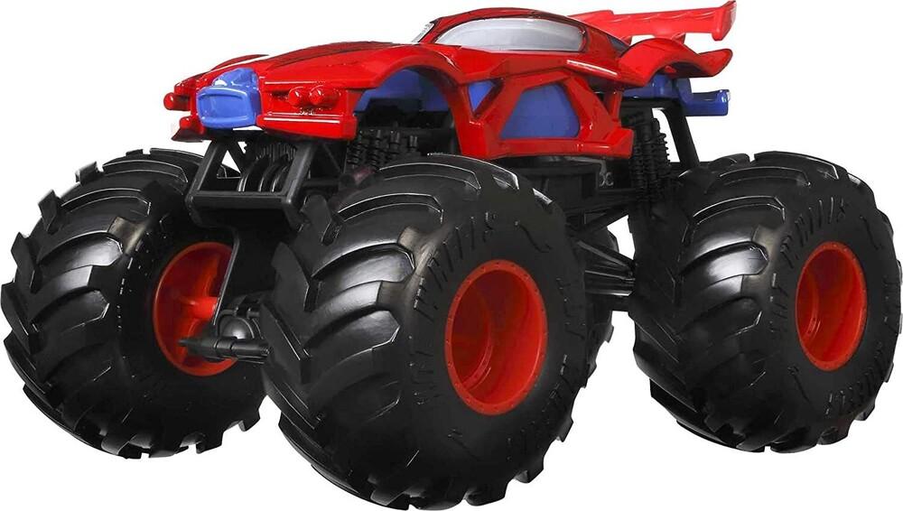 - Mattel - Hot Wheels Monster Truck 1:24 Marvel Spiderman