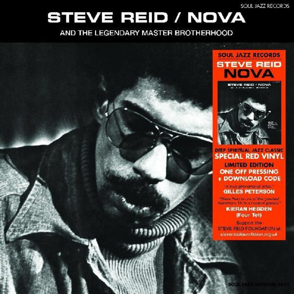 Steve Reid - Nova [Colored Vinyl] [Limited Edition] (Red) [Download Included]