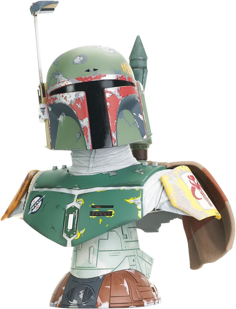 - Star Wars Legends 3d Esb Boba Fett 1/2 Scale Bust