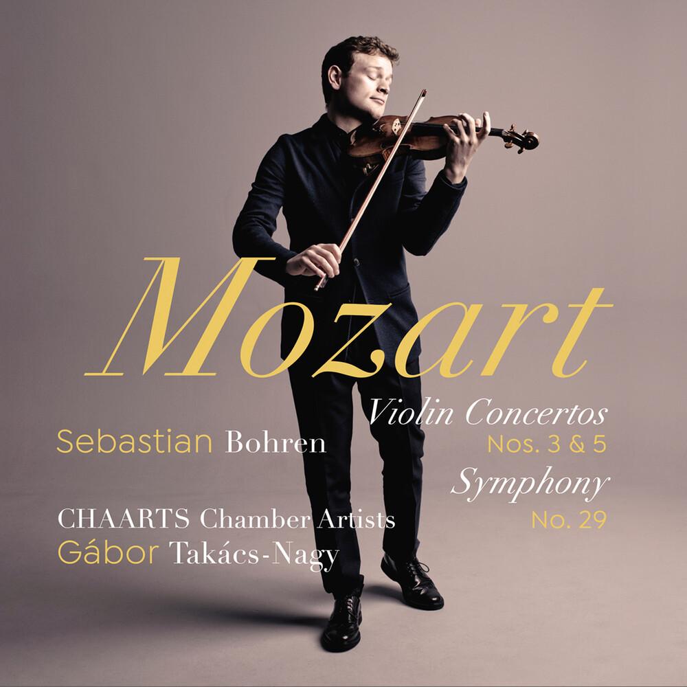 Mozart / Bohren / Takacs-Nagy - Violin Concertos 3 & 5