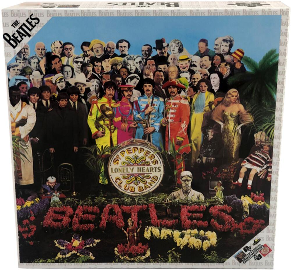 - Beatles - Sgt Pepper Double Sided Album Art Puzzle