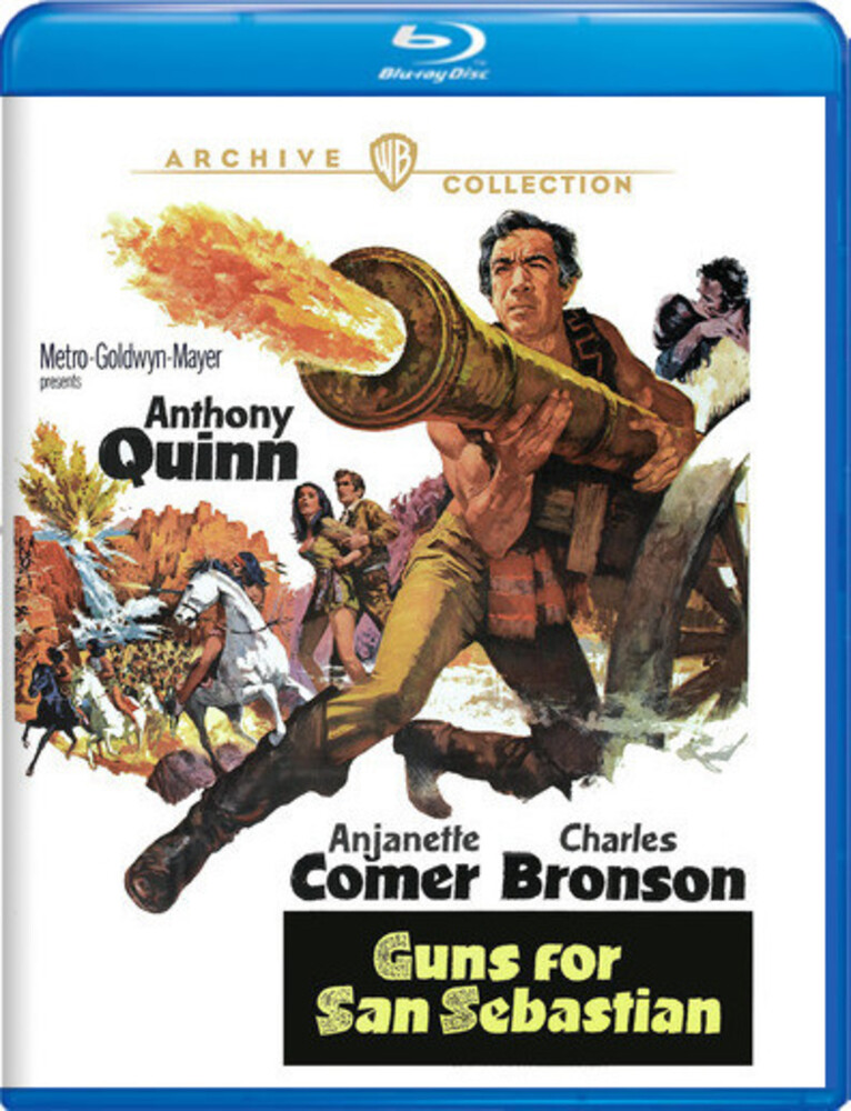 - Guns For San Sebastian (1968) / (Full Mod)