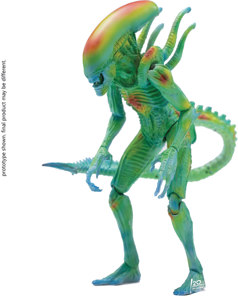 - Avp Thermal Vision Alien Warrior 1/18 Scale Fig