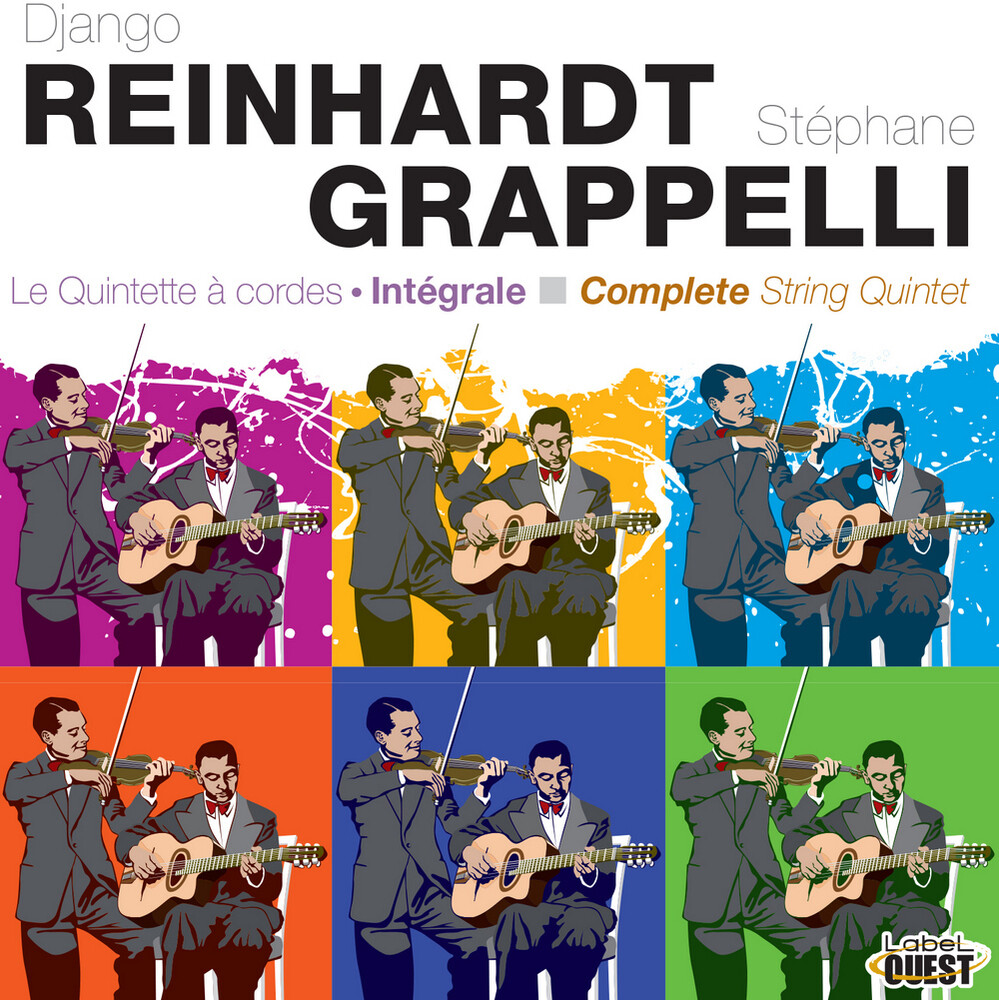 Django Reinhardt  / Stephane,Grappelli - Le Quintette A Cordes - Integrale