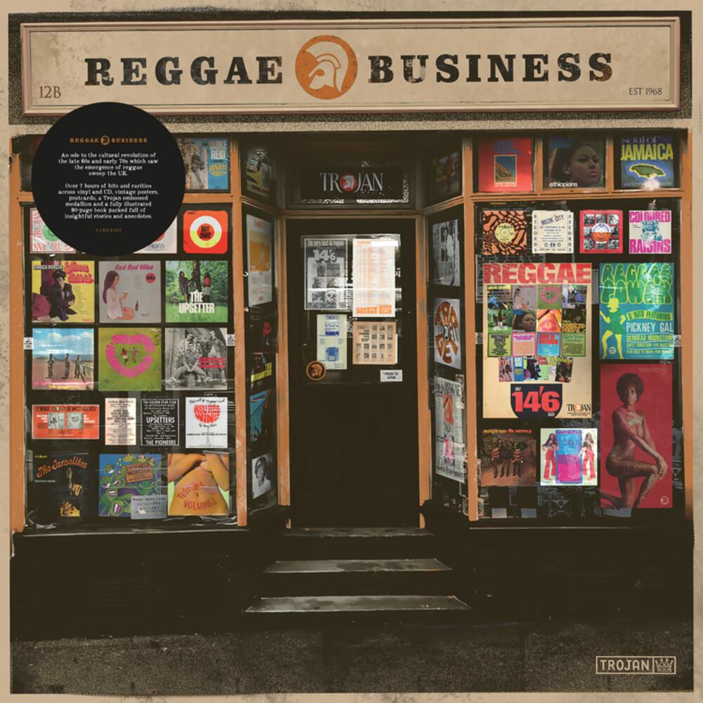 Reggae Business / Various - Reggae Business / Various (W/Book) (W/Cd) (Box)