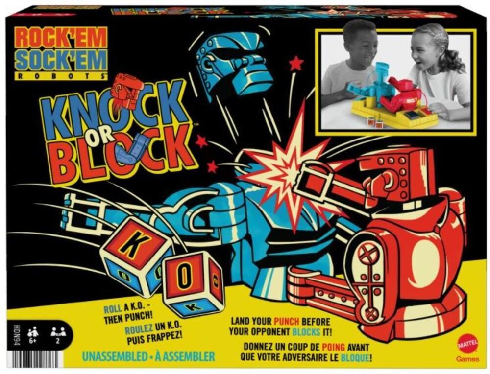 Family Games - Rock Em Sock Em Knock Or Block (Ttop)