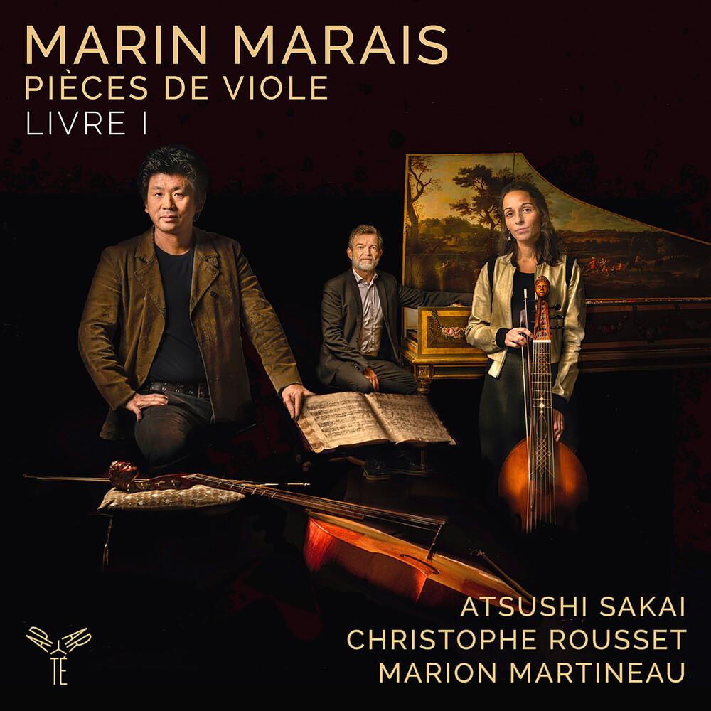 Atsushi Sakai  / Rousset,Christophe - Marin Marais: Pieces De Viole - Livre I