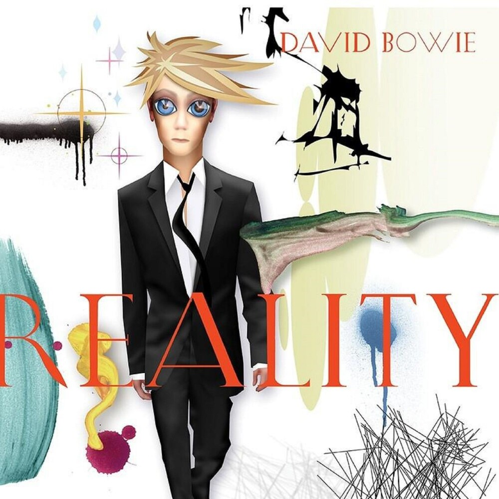 David Bowie - Reality [Limited Edition Translucent Gold & Blue Swirl Audiophile LP]