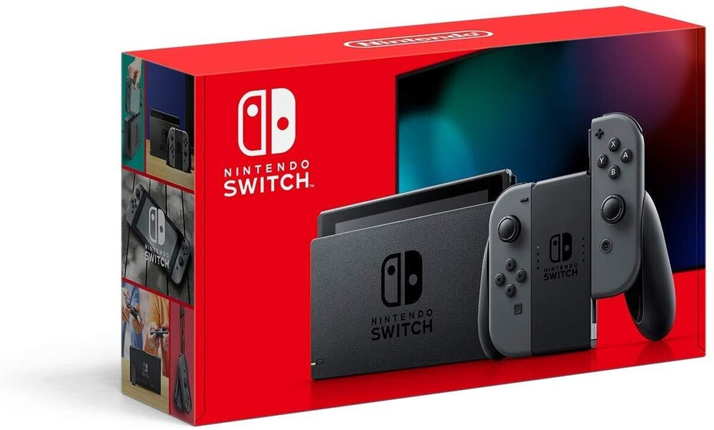 Swi System: Gray - 2019 - Nintendo Switch System with Gray Joy-Con