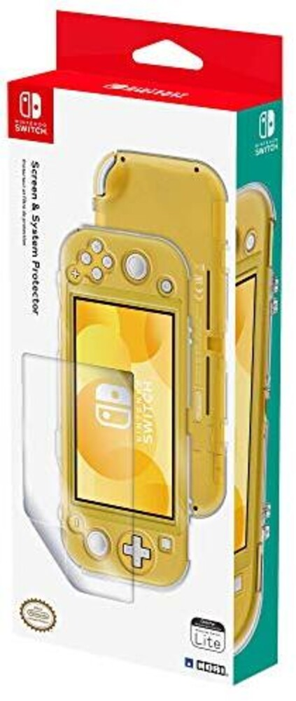 - HORI Screen & System Protector for Nintendo Switch Lite