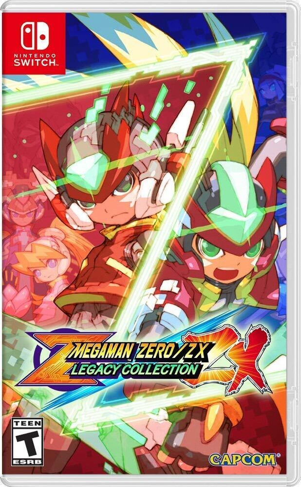 Swi Mega Man Zero/Zx Legacy Collection - Mega Man Zero/ZX Legacy Collection for Nintendo Switch