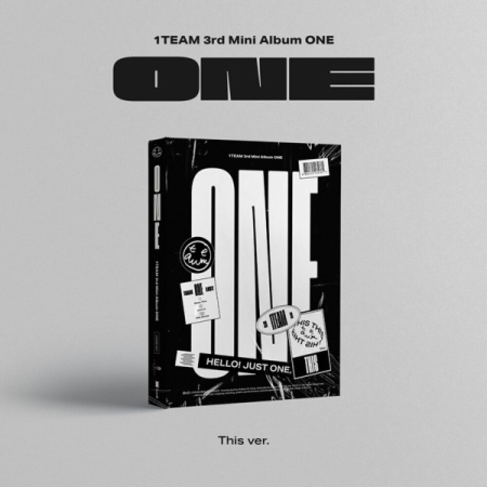 1team - One (This Version) (Stic) [With Booklet] (Pcrd) (Phot)