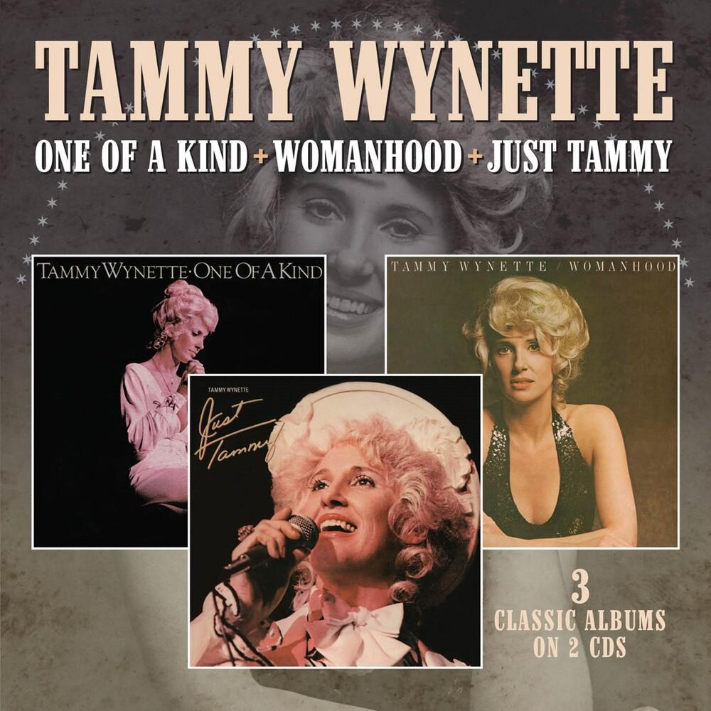Tammy Wynette - One Of A Kind / Womanhood / Just Tammy
