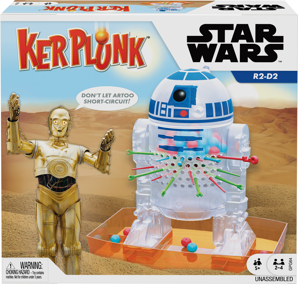 Games - Mattel Games - Star Wars Kerplunk