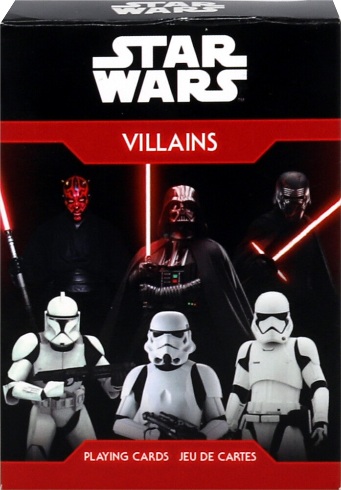 Star Wars Villains Playing Cards Deck - Star Wars Villains Playing Cards Deck