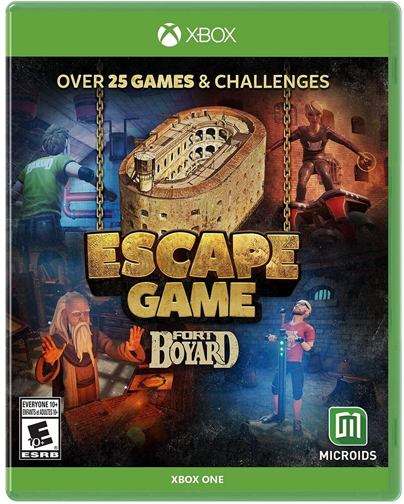 - Escape Game: Fort Boyard for Xbox One