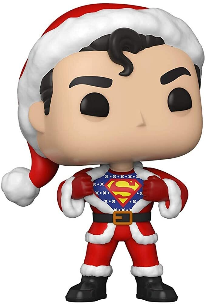 - FUNKO POP! HEROES:DC Holiday-Superman w/Sweater