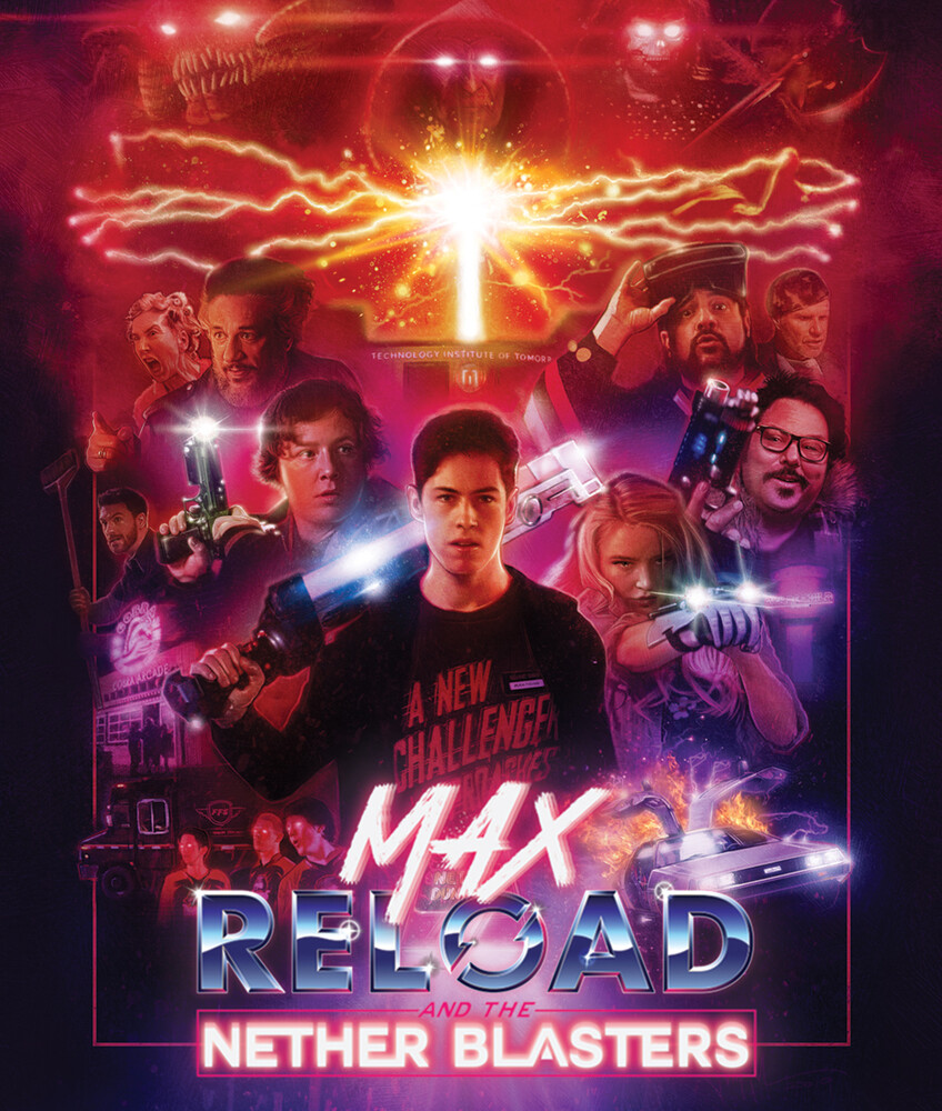 - Max Reload And The Nether Blasters