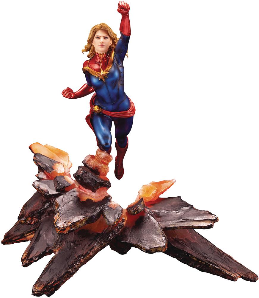 Captain Marvel - Artfx Premier Statue - Kotobukiya - Captain Marvel - Artfx Premier Statue