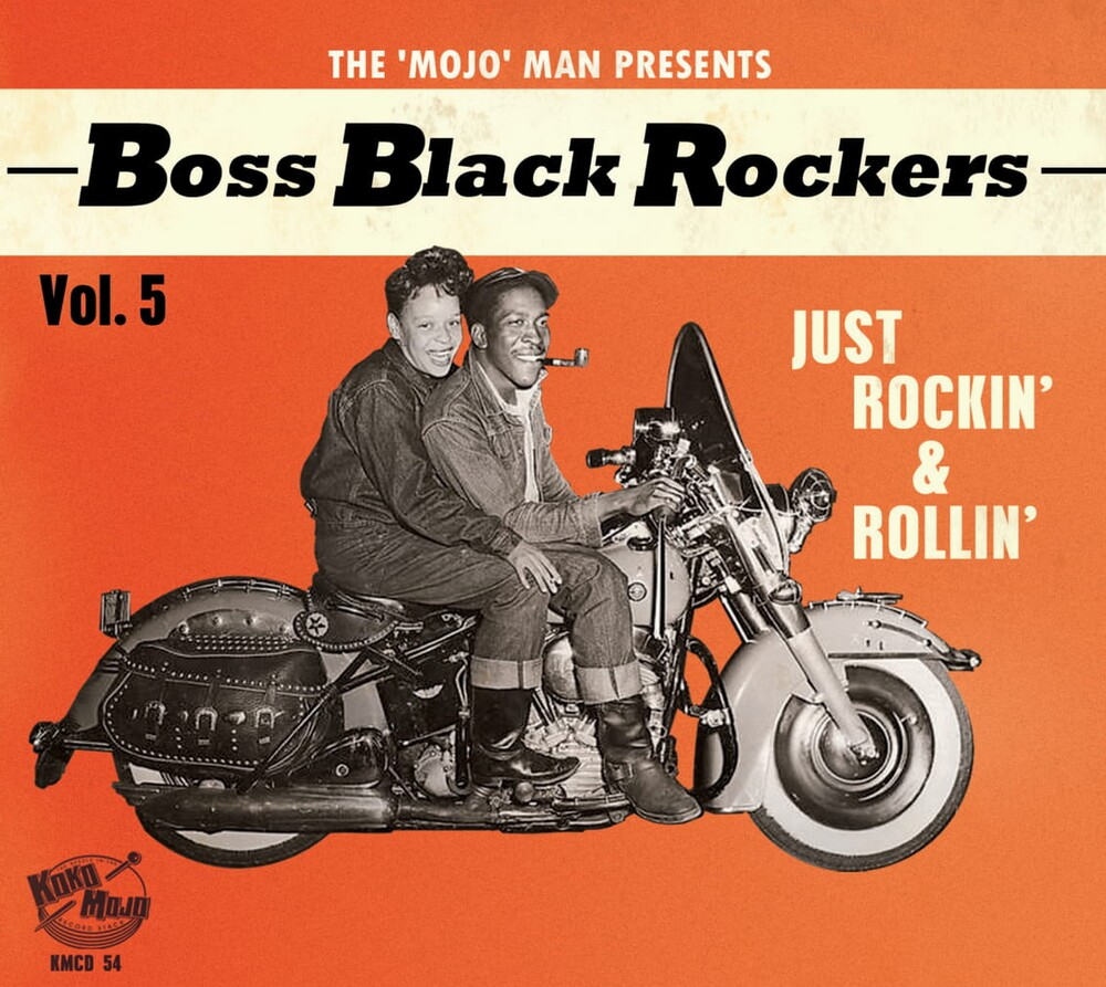 Boss Black Rockers Vol 5 Just Rockin / Various - Boss Black Rockers Vol 5: Just Rockin' & Rollin (Various Artists)