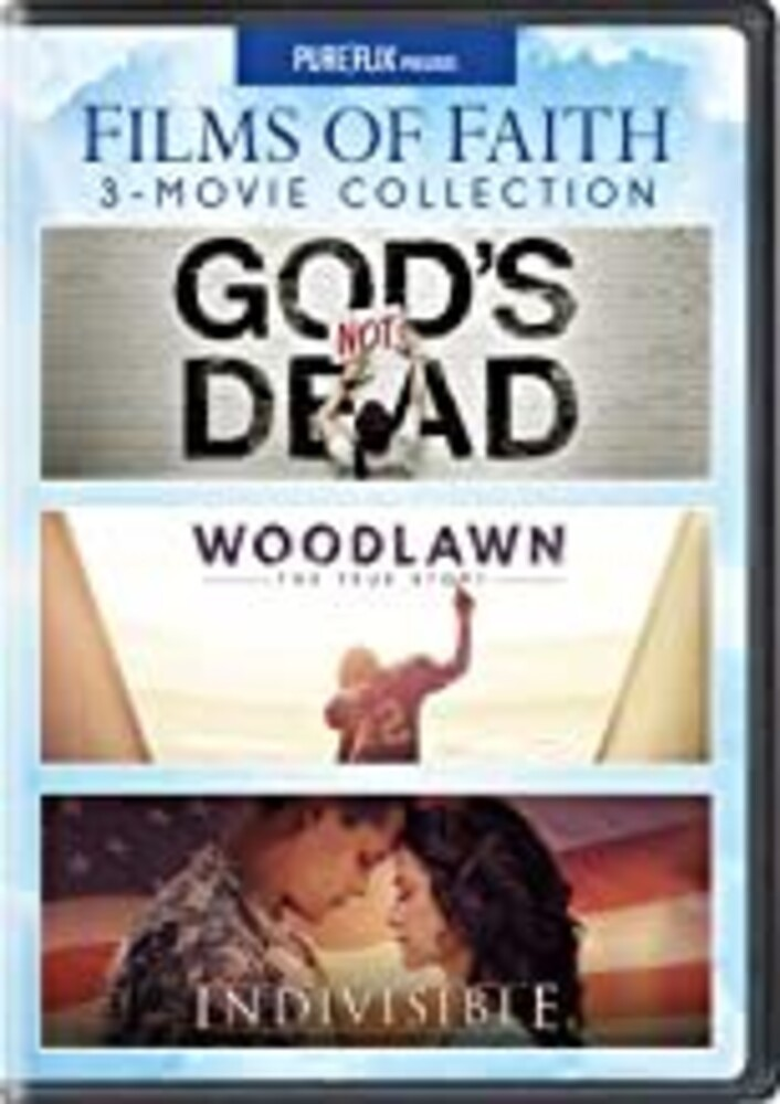 Films of Faith 3-Movie Collection - Films Of Faith 3-Movie Collection (3pc) / (3pk)