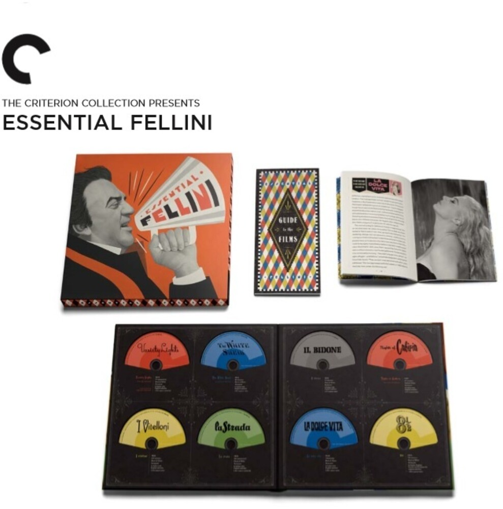 - Criterion Collection: Essential Fellini (15pc)