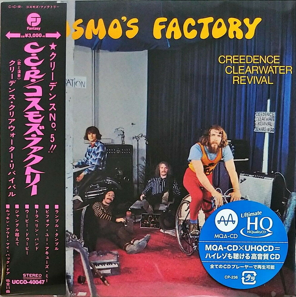 Ccr Creedence Clearwater Revival - Cosmo's Factory (Jmlp) [Limited Edition] (Hqcd) (Jpn)