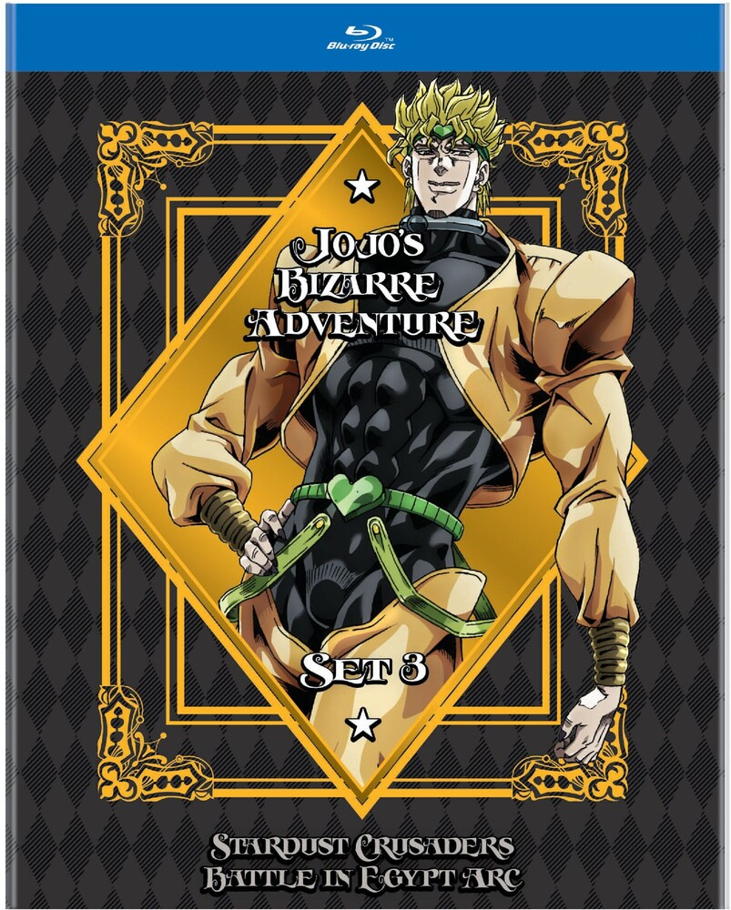 - Jojo's Bizarre Adventure Set 3: Stardust Crusaders - Battle In Egypt